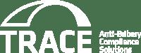 TRACE International Logo (Tagline) White - MED
